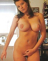 Cute slut has the nicest big round boobs and shes ready to get fucked.