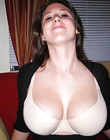 Big boob hoe has no shame showing her tits and they love to fuck.