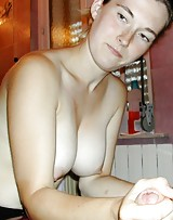 Amateur girl has huge suckable breasts and that's what you call HOT.